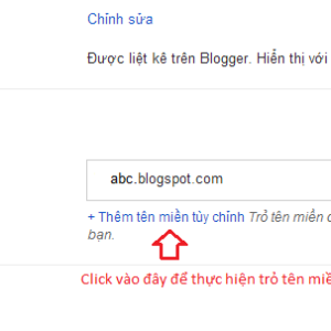 Hướng dẫn cách add tên miền vào blogspot chi tiết