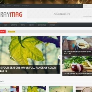 Spraymag - Theme blogspot đẹp cho trang tạp chí, tin tức