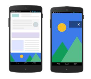 Quảng cáo cấp trang mới của Google Adsense