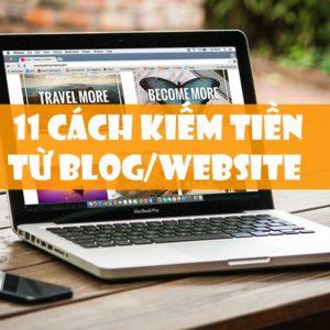 Nên kiếm tiền từ nội dung hay sản phẩm trên blog và website