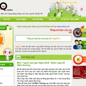 Infoq.vn - Trả lời khảo sát kiếm tiền của Việt Nam