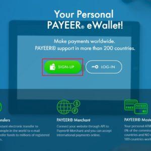 Cách đăng ký Payeer để mua Bitcoin, Litecoin hoặc Paypal bằng Visa
