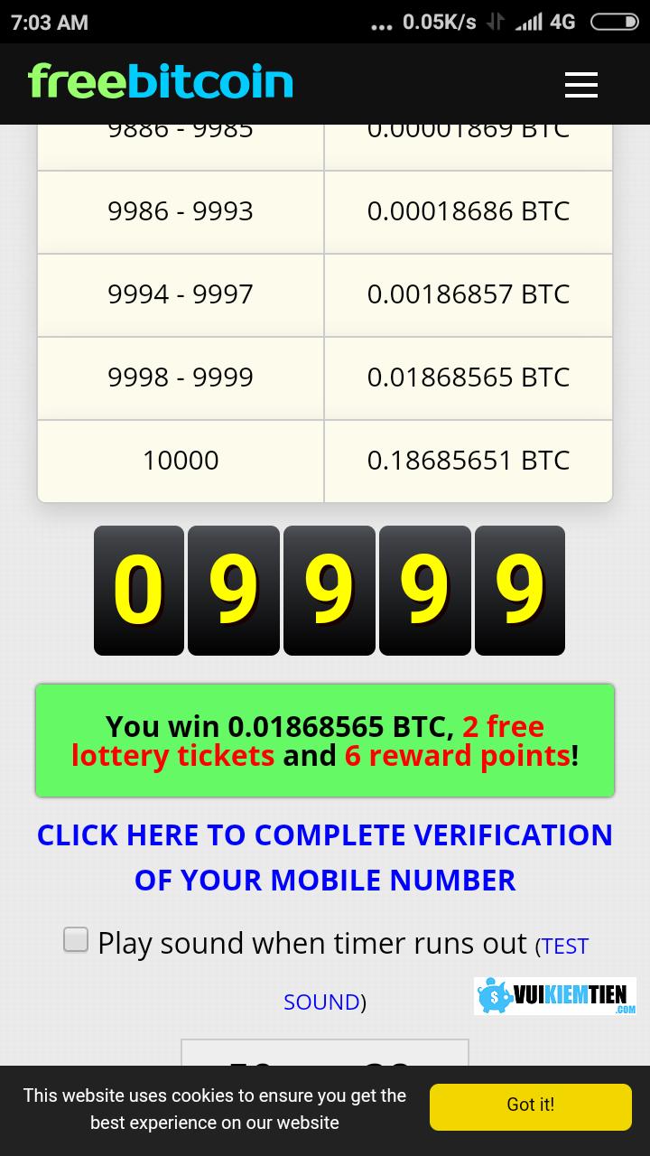 2 Thủ thuật kiếm tiền với Free Bitco.in: cá cược, đầu tư, gửi lãi