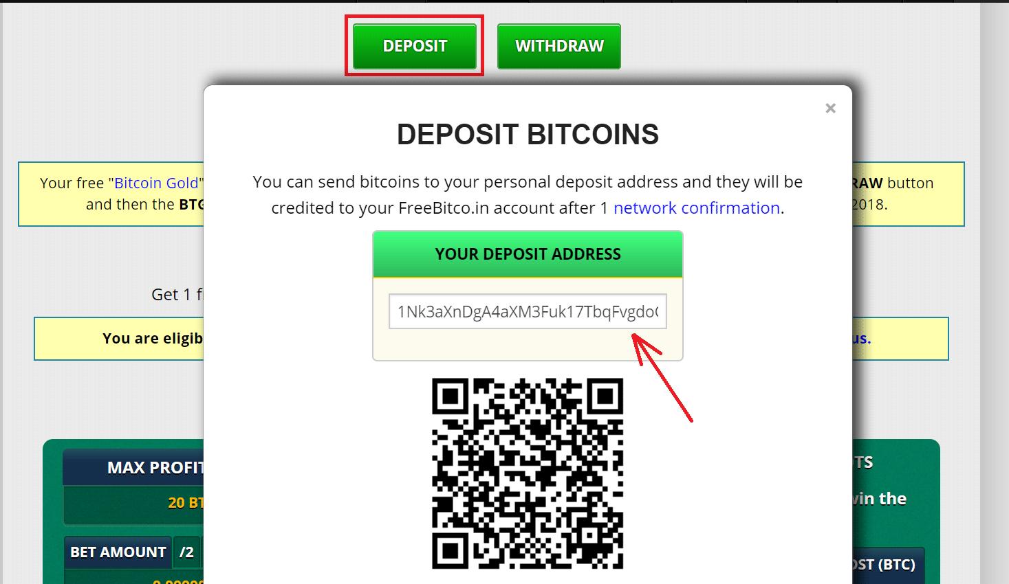 3 Thủ thuật kiếm tiền với Free Bitco.in: cá cược, đầu tư, gửi lãi